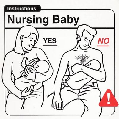 Nursing baby