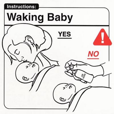 Waking baby