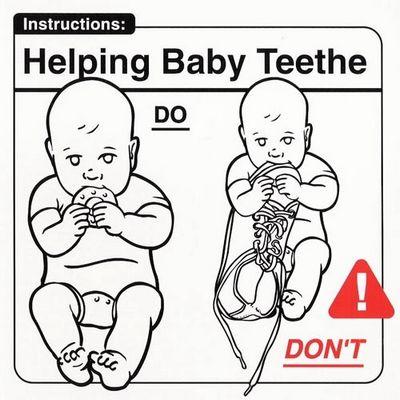 helping baby teethe