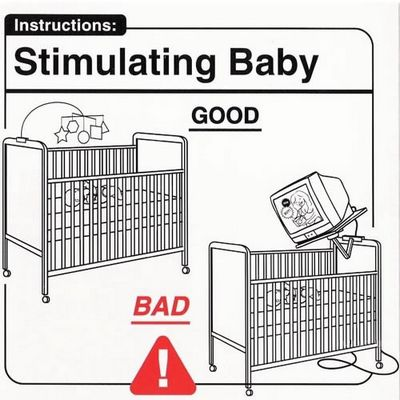 Stimulating baby