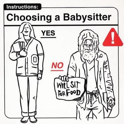 Choosing a babysitter