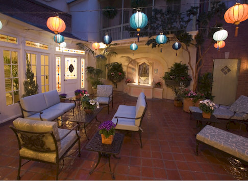 The Disneyland Dream Suite Patio
