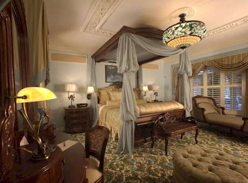 The Disneyland Dream Suite Master Bedroom