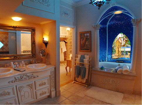 The Disneyland Dream Suite Master Bath