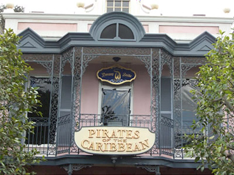 The Disneyland Drem Suite Entrance