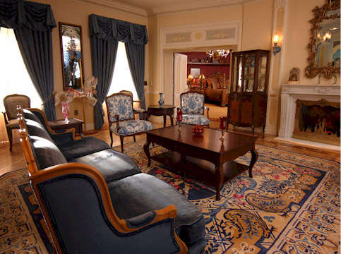 The Disneyland Dream Suite Living Room