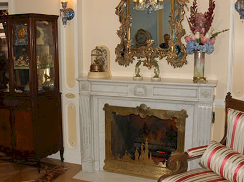 Disneyland Dream Suite Fireplace