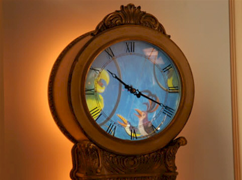 The Disneyland Dream Suite Grandfather Clock
