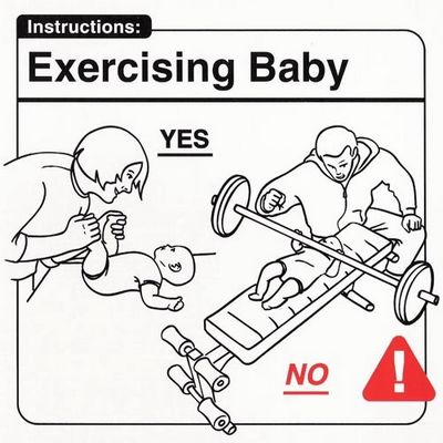 Excercising with baby